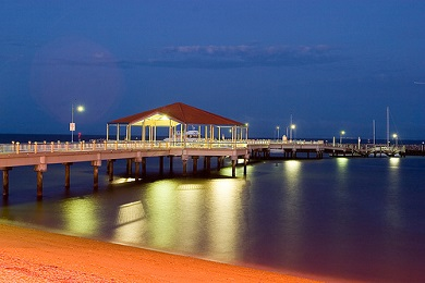Redcliffe Jetty at Night
