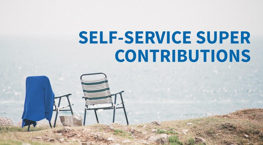 Self-Service Super Contributions